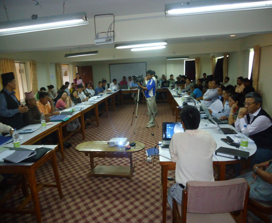 Participants Participating on Seminar (Custom)